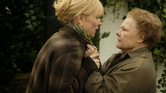 Sheba (Cate Blanchett) and Barbara (Judi Dench) in Notes on a Scandal. (DNA Films)